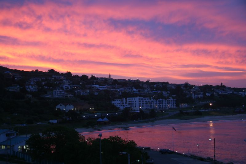Pink Sunset in Mossel Bay