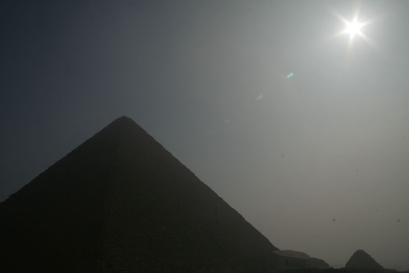 Great Pyramid at Sunrise