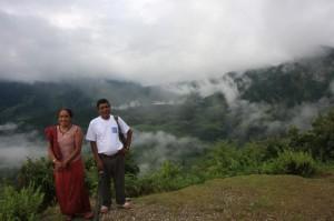 Didi and Naba at the edge of Puma