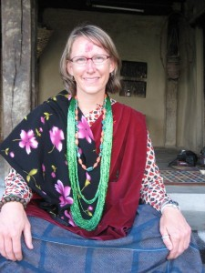 Me in traditional Gurung dress