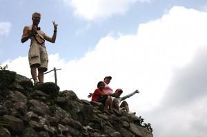 The trekking gang - Rowan, Karina, Nora, and Joy