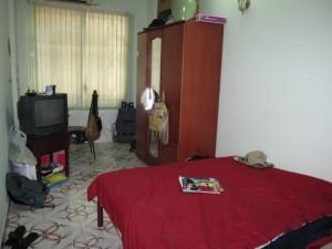 My narrow room