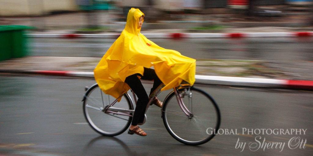 Vietnam Rainy Season biking
