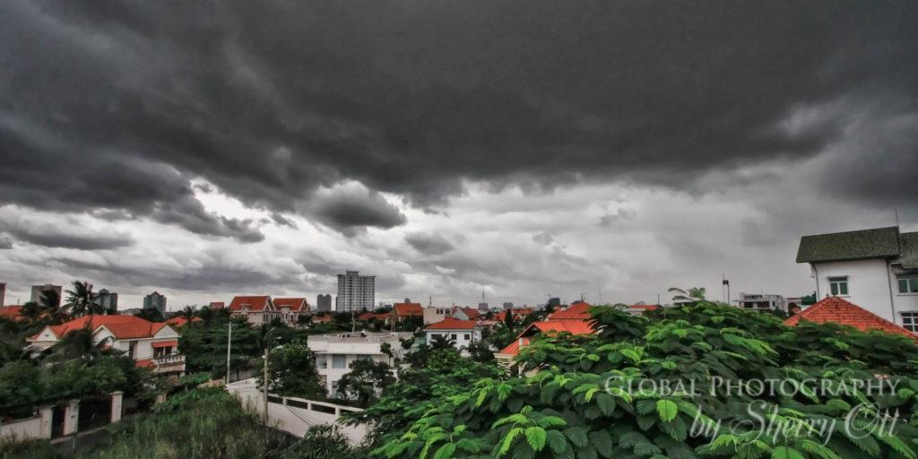 approaching storm hcmc