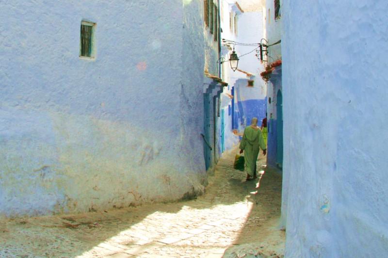 The Blue Alleyways