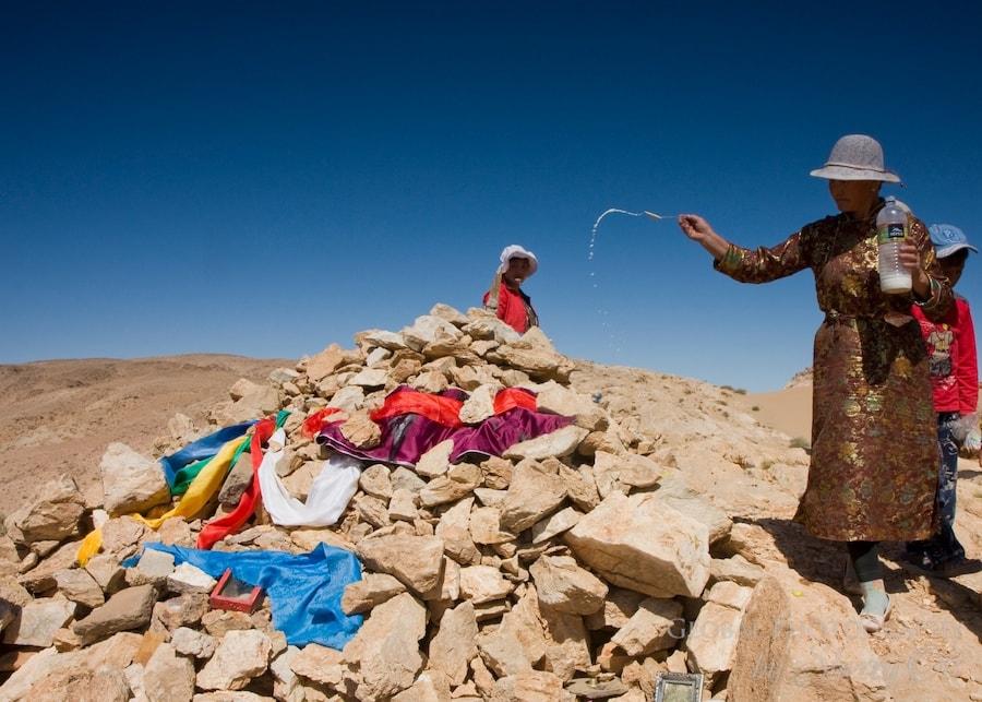 Mongolian milk is sacred