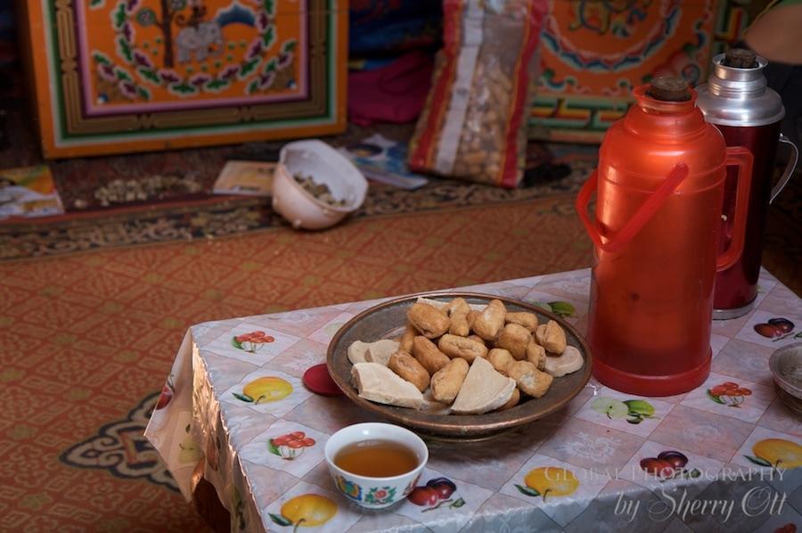 Mongolian bread