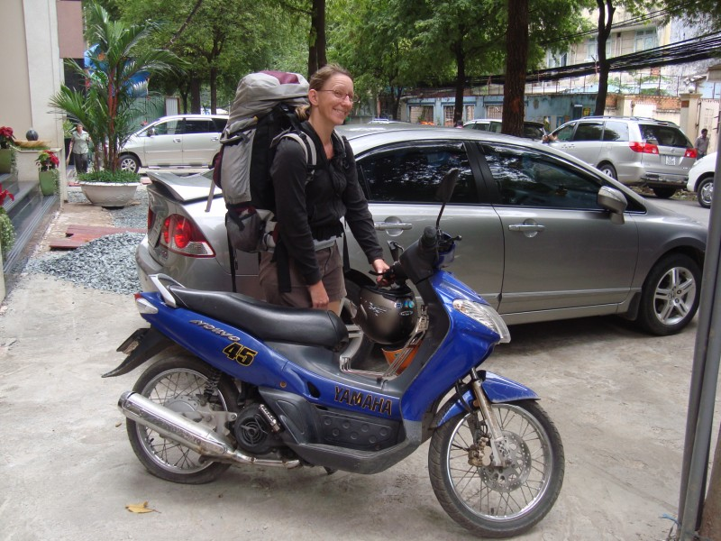 Me and my motorbike