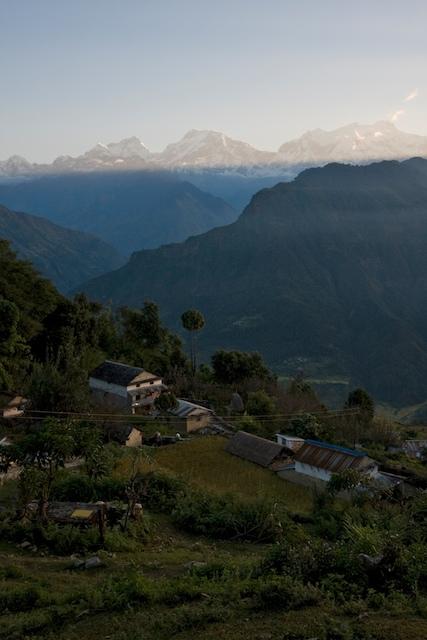 The hilltop village of Puma at Sunrise