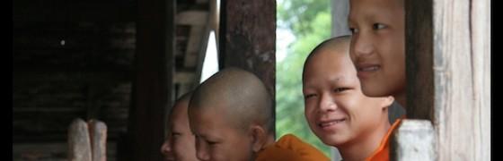 Monks Laos