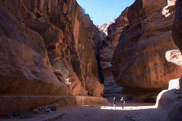The Siq Petra