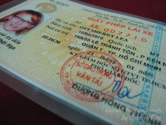 license Vietnam