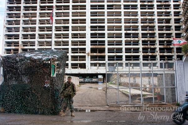 Holiday Inn Beirut army