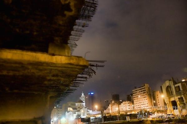 lebanon at night