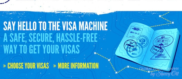 visa machine