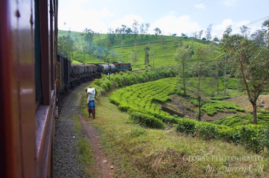 Sri Lanka Train Corner