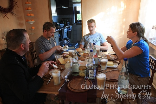 breakfast germany