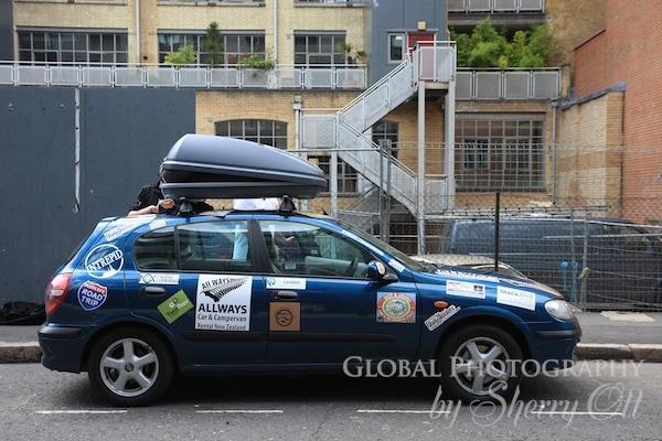 Mongol Rally Car