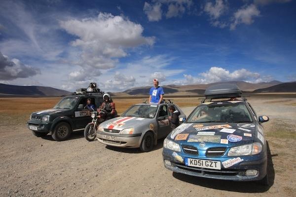 mongol rally epic trip