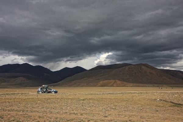 stormy skies mongolia