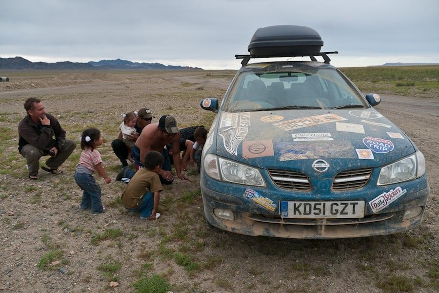 mongolia car trouble