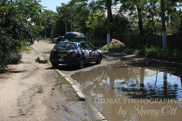 Driving in Ukraine
