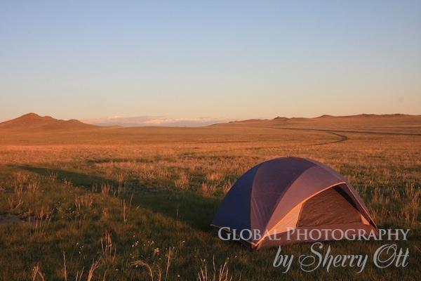 mongolia camping
