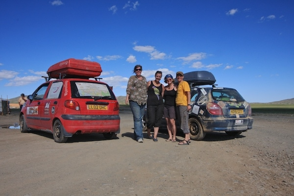 mongol rally women
