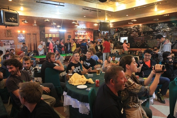mongol rally party