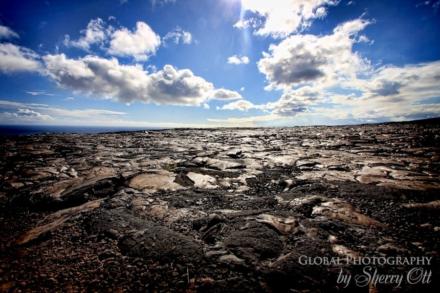 lava volcanoes national park hawaii