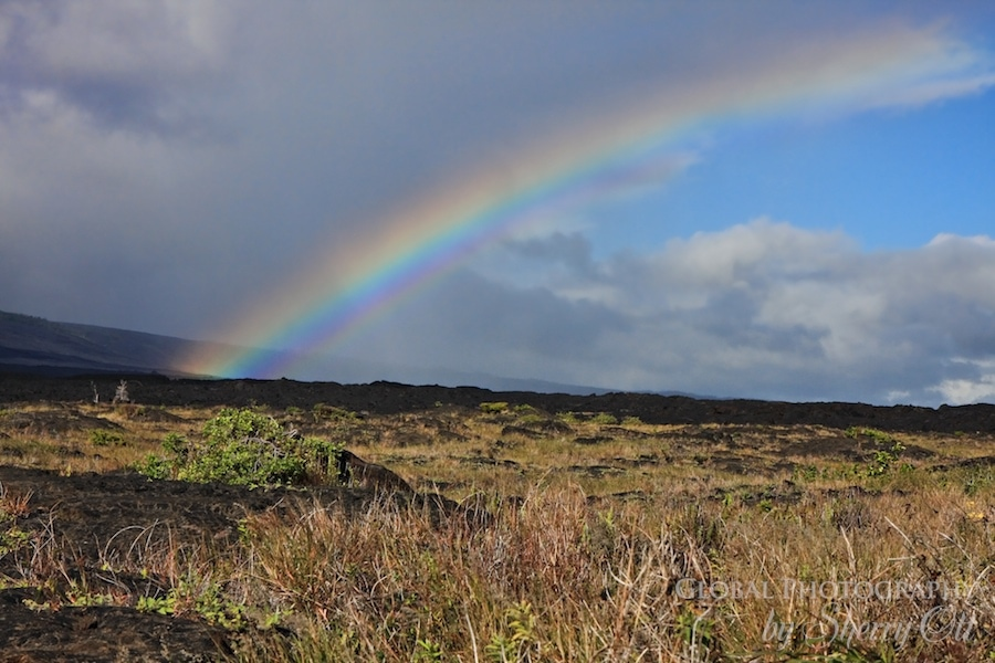 rainbow volcanoes national park