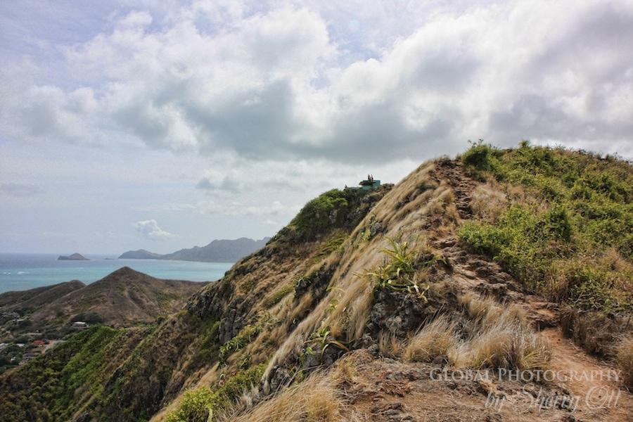 ridge trail hike oahu