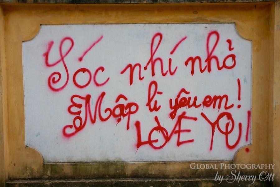 graffiti vietnam