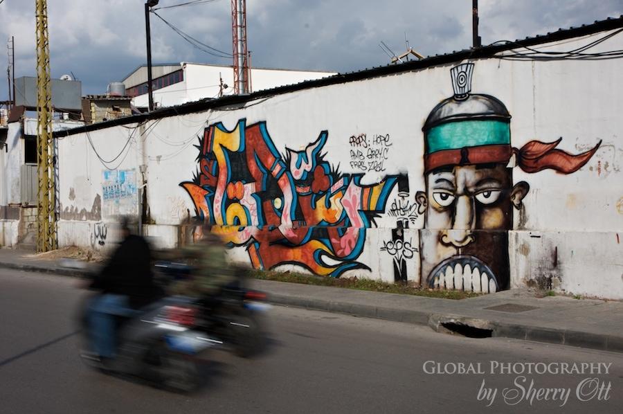 graffiti beirut