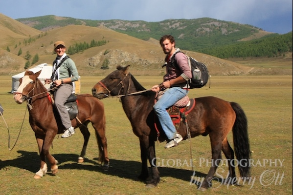 visting mongolia by horse