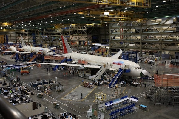 Airplane manufacturing
