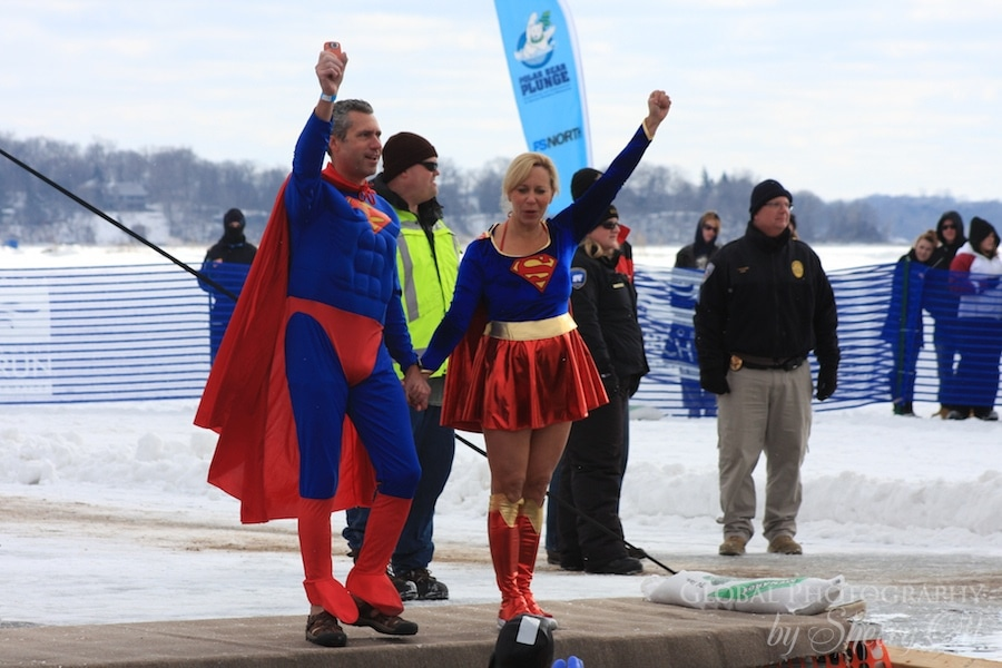 super man and woman