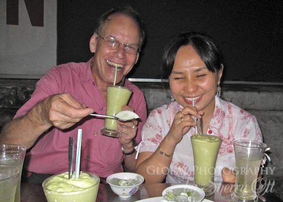durian shake
