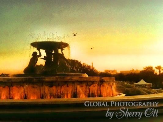 Fountain valletta