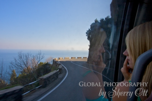 amalfi coast bus