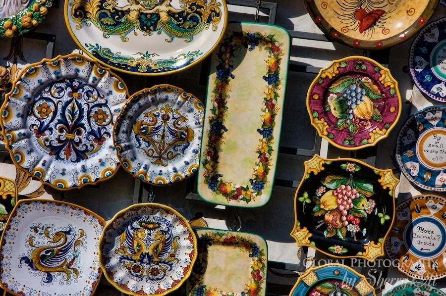 amalfi pottery