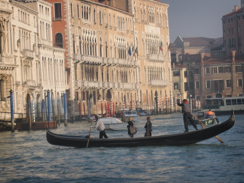 gondola crossing