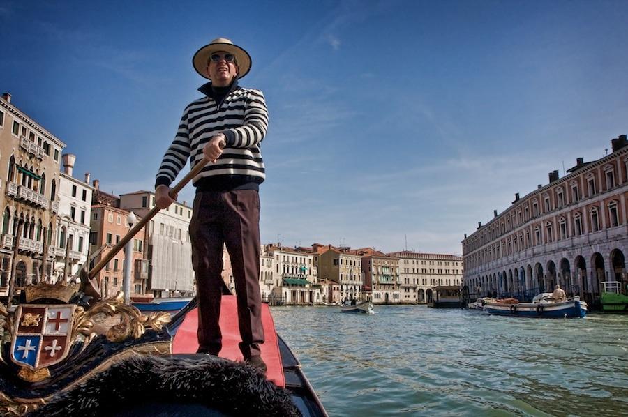 Gondola Photography in Venice