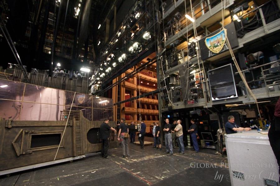 back stage
