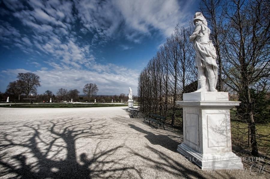 palace garden vienna