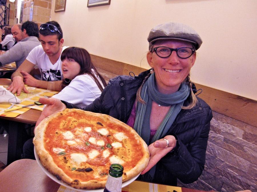 Margerita Pizza in Naples