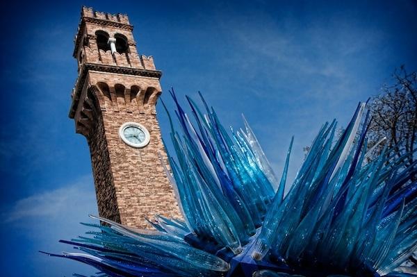 glass bell tower murano