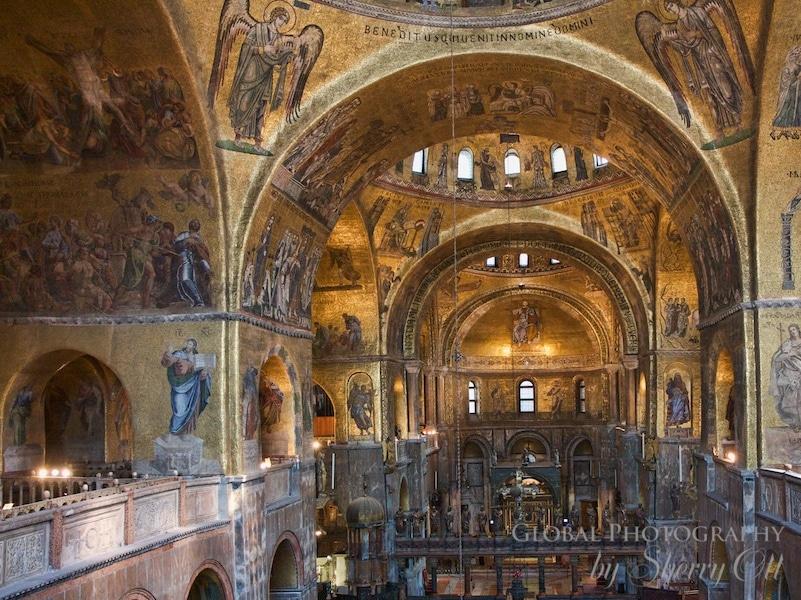 frescos st marks