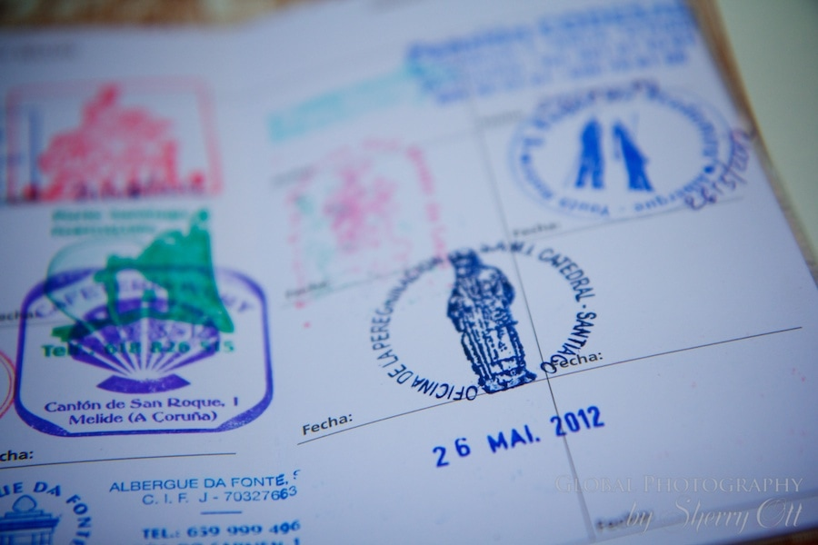camino stamps