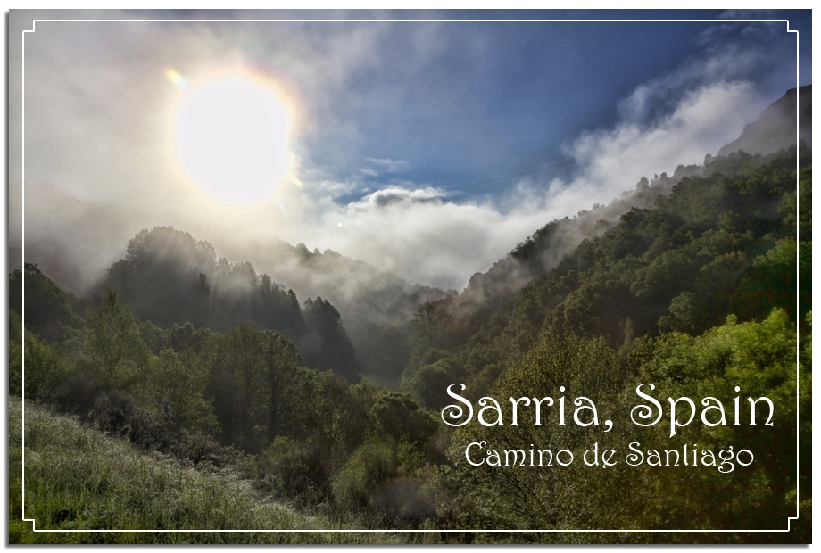 fog sunrise mountains spain